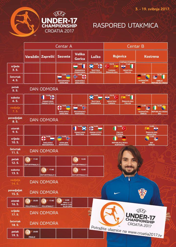 Kalendar natjecanja
