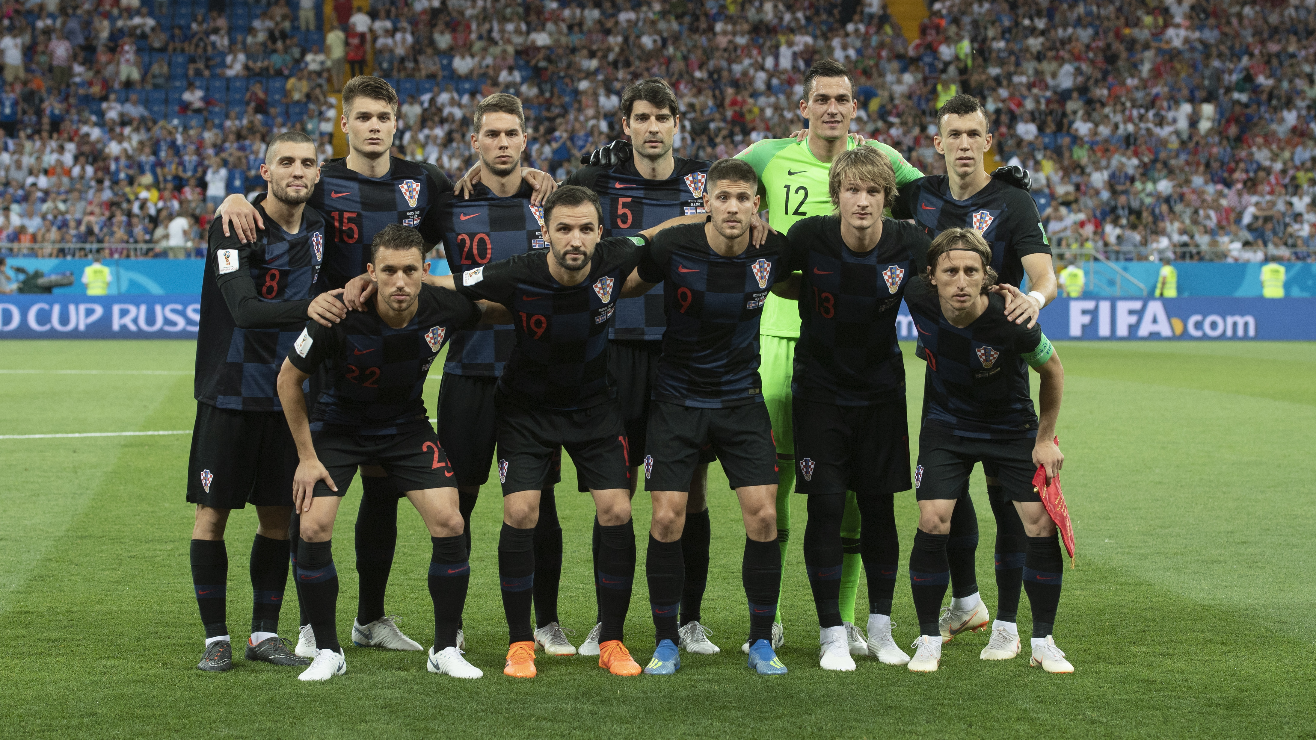 In The Third Final  Fifa World Cup Group D Match Croatia Defeated Iceland  Securing The Top Spot And Booking A Round Of  Date With Denmark