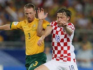 Croatia's friendly with Australia in Brazil