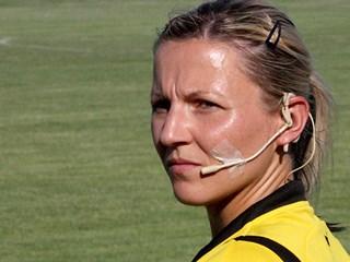 Sanja Rođak-Karšić sudi u finalu Lige prvakinja