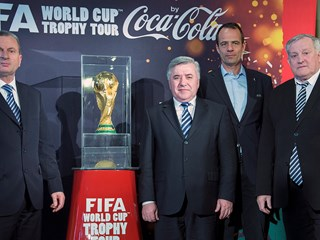 FIFA World Cup trophy comes to Croatia