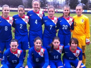 Crnogorke s bijele točke bolje od Hrvatske U-18