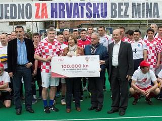 HNS i bivši reprezentativci podržali razminiranje Hrvatske