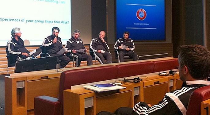 Hrvatski treneri na Uefinoj edukaciji u Nyonu
