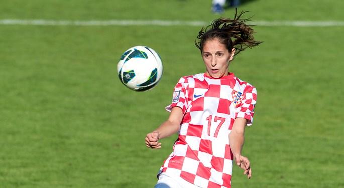 Hrvatice osvojile bod u Slovačkoj