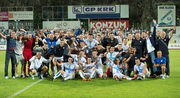 Rijeka osvojila Hrvatski superkup