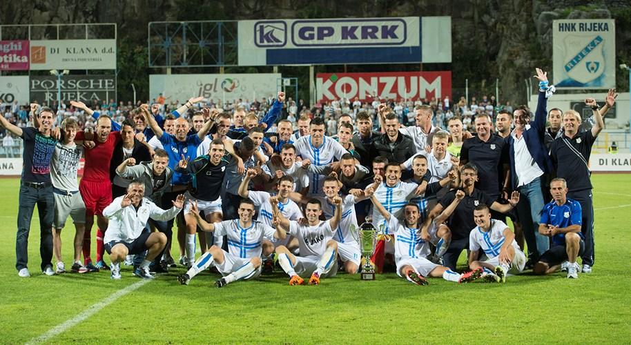 Rijeka wins Supercup title