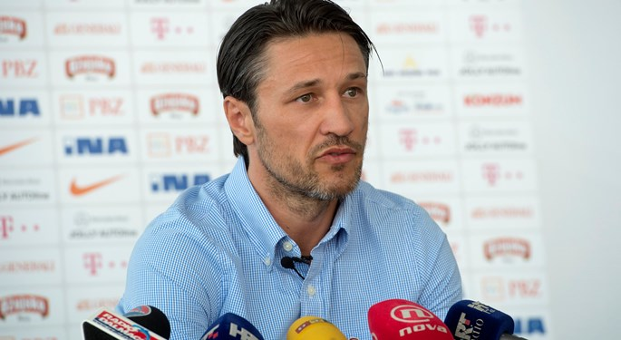"Kovač: ""Now is the time to change something and give the young lads a chance"""