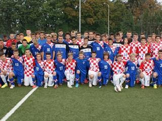 Hrvatska U-14 i U-15 ugostile reprezentacije Hrvata iz Njemačke