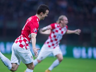 Croatia draws in Italy: Candreva and Perišić share the spoils