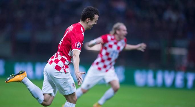 Croatia draws in Italy: Candreva and Perišić share the spoils