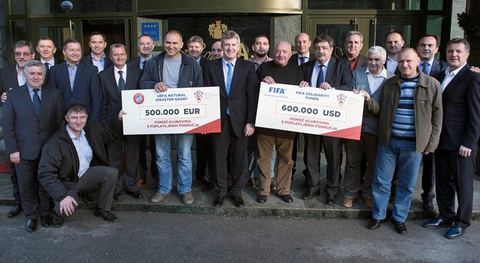 Football family helps Eastern Slavonia