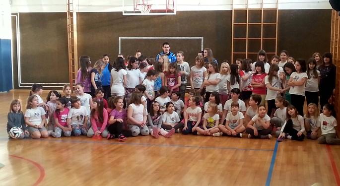 Dnevni kamp HNS-a za male nogometašice