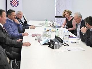 Zajedničko priopćenje nakon sastanka HNS-a i Hajduka