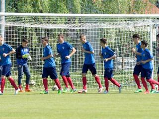 U-15 reprezentacija na turniru u Italiji