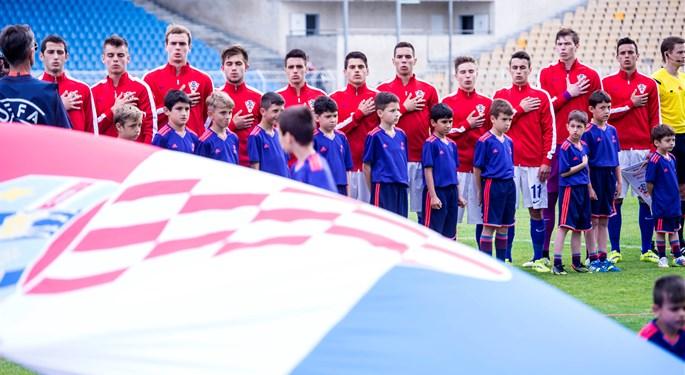 Hrvatska U-17 zaustavljena u četvrtfinalu EP-a