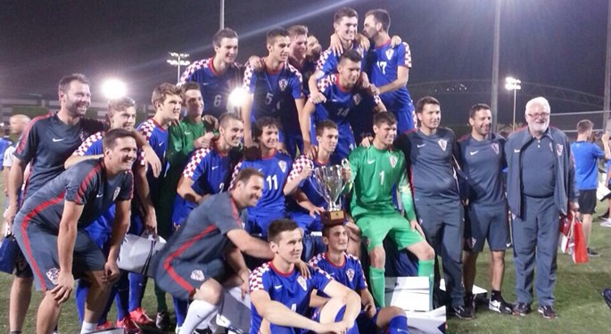 Mladi Vatreni novom visokom pobjedom osvojili turnir