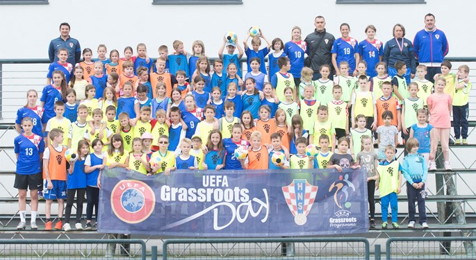 Održan Festival ženskog nogometa, obilježen Grassroots dan