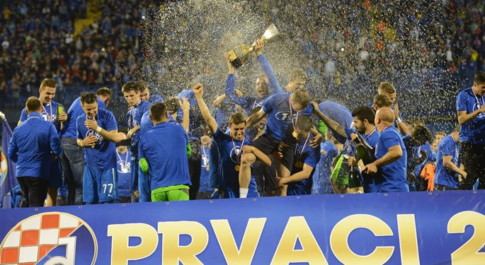Dinamo undefeated Croatian champions
