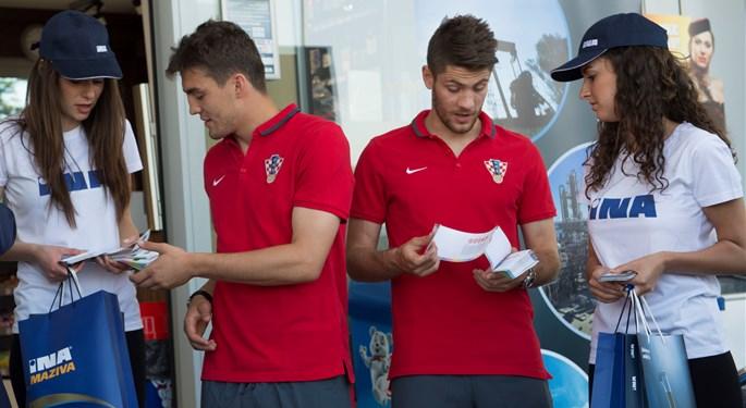 INA i Hrvatski nogometni savez obnovili sponzorsku suradnju
