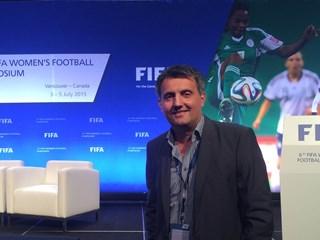Jozak na Fifinom simpoziju o ženskom nogometu
