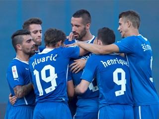 Dinamo preko Intera do prve pobjede, Split slavio nad Osijekom