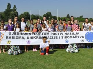 Vukovar domaćin 3. nogometnom kampu djece nacionalnih manjina