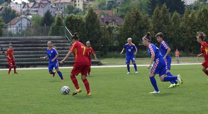 Hrvatska U-17 svladala i Crnogorke
