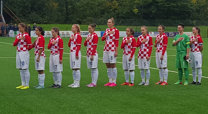 Hrvatska U-19 svladala Velšanke