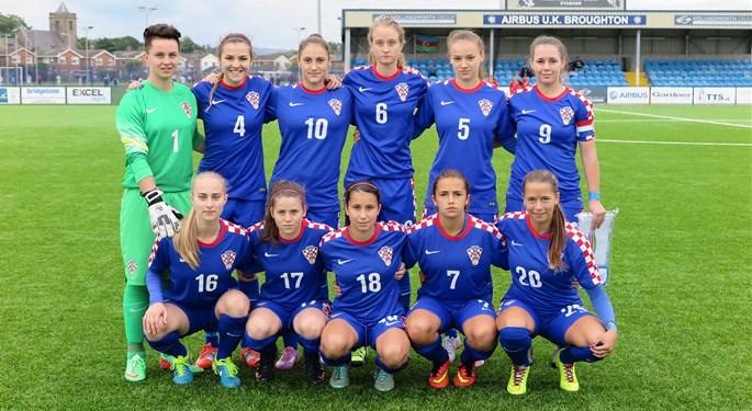 Hrvatska U-19 treća u kvalifikacijama u Walesu
