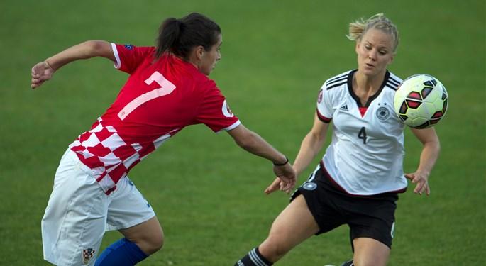 Njemačka svladala Hrvatice 2:0 u Osnabrücku