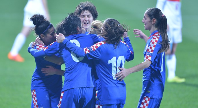 Okupljanje ženske reprezentacije za Istria Women's Cup