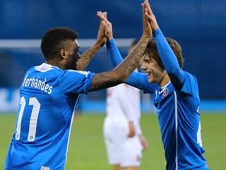 Dinamo stekao dva pogotka prednosti za uzvrat u Tbilisiju