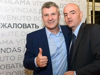 Gianni Infantino čestitao Šukeru na ponovnom izboru