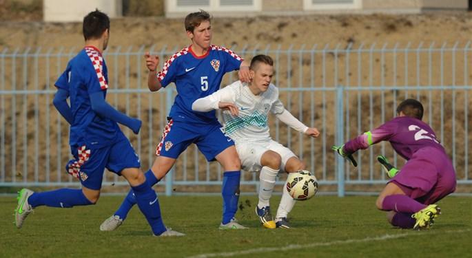 Mladi Hrvati ponovno svladali Sloveniju