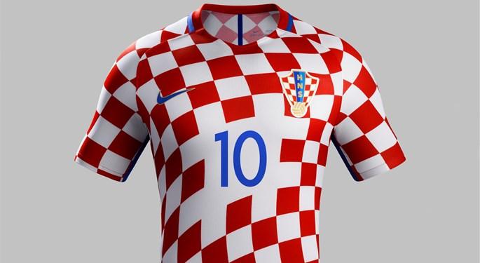 Nike predstavio dres hrvatske reprezentacije za EURO 2016.