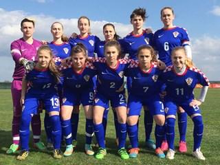 Okupljanje hrvatske ženske U-19 reprezentacije