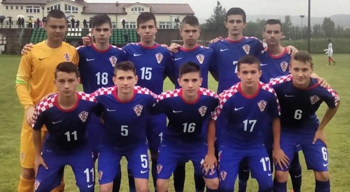 Pobjeda Hrvatske U-15 nad Englezima za sedmo mjesto