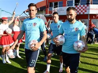 Sjajna atmosfera na otvorenom treningu Hrvatske