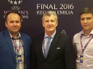 Predsjednik Šuker na finalu Lige prvakinja