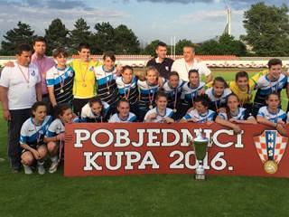 Nogometašice Osijeka osvojile naslov i u Kupu