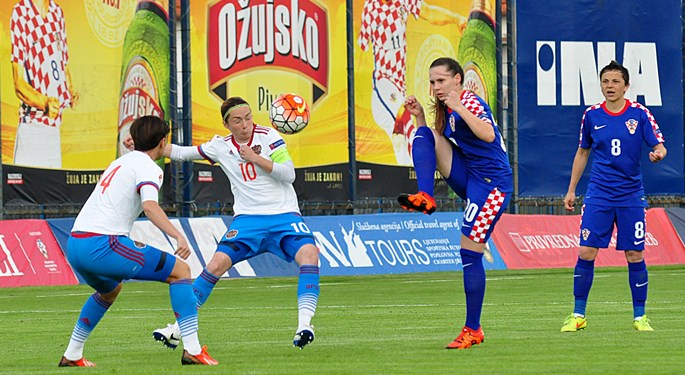 Ruskinje svladale Hrvatice na završetku kvalifikacija
