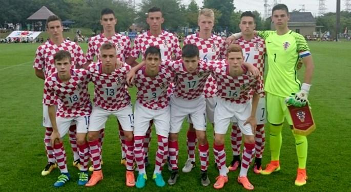 Hrvatska U-17 osvojila bod protiv Japana U-18