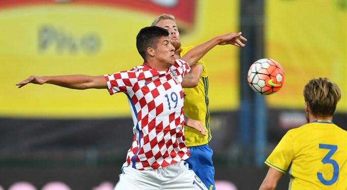 Hrvatskoj U-21 bod u Gruziji, dva gola Perice