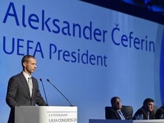 Aleksander Čeferin the new UEFA president