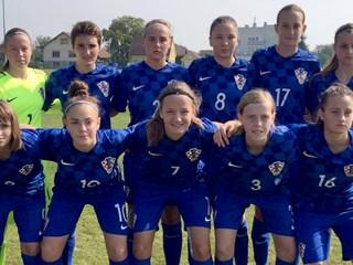 Okupljanje hrvatske ženske U-17 reprezentacije