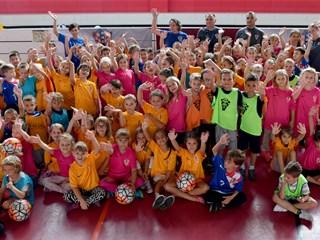 Djeca uživala u nogometu i obilježavanju Grassroots dana