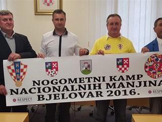 Bjelovar domaćin 6. nogometnog kampa nacionalnih manjina