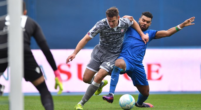 Dinamo i Hajduk bez pogodaka, remi Cibalije i Slaven Belupa