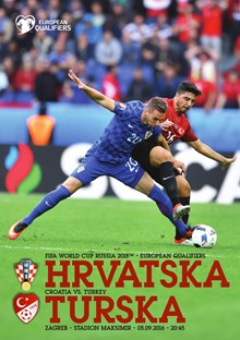 2018 FIFA World Cup™,<br>European qualifiers<br>Croatia v. Turkey Zagreb, 5 September 2016